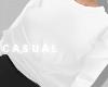C| Sweater White