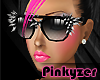 P* Spiked Shades Black