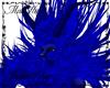 Blue Plushy Demon Hair 2