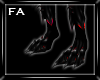 (FA)Dark Feet Red