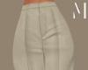 Cream Classy Pants | M