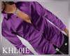 K Tom purple shirt