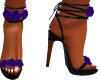 Blue Rose Heels