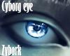 Cyborg Eye Skyblue
