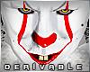 *Kc*Evil clown head