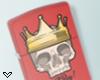 ✔ Skull Zippo Lighter