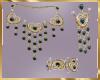 C16 TealBlue Jewelry Set