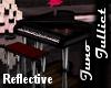 Reflective Grand Piano