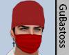Mascara Vermelha Doc Red