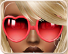 !NC Heart Glasses Red
