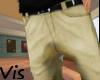 V Khaki Shorts
