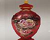 Red Floral Jar One