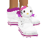 Purple Kitty Shoe