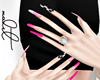 M. Pink Race Nails