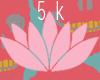 support sticker ; 5k