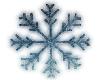 Neon Crystal Snowflake