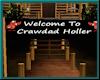 (A) Crawdad Holler Sign