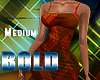 M Bold Afro Dress