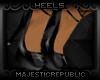 m r Black Candy Heels