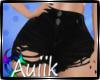 A  Black Jean Shorts