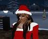 Christmas Hat w/ Hair