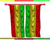 Animated Rasta Curtains