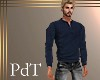 PdT Navy Thermal Henley