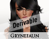 Derivable long hair 4