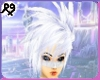 Ice White Spikes hairM/F