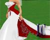 LC~Red Satin Wedding