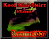 Kool Mini-Skirt Flame