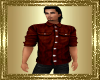 VG~Brown Leather Shirt