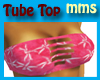 Hawaiian Tube Top Pink