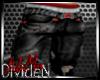 L: Red Monkey Str8 Leg