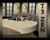 T3 Zen Mod Romance Bed