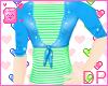 [DP] Grn+Blu Sweatertop