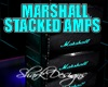 SD MARSHALL Stacked Amps