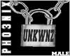 !PX UNKWNZ LOCK *CUST*