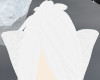 Pure White Wolf Ears