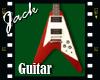 Guitar Flying V Red