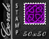 Purple Celt Knot 50x50