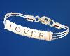 ( LOVER ) left bracelet