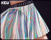 ʞ- Zodiac Holo Skirt