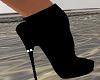 Designer Black Boots