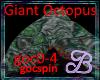 Giant Green Octopus DJ