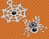 Spider & Web Silver