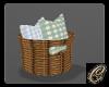 Pillow Basket Decor