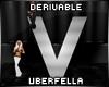 Derivable Letter V