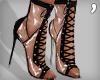 , Laced Plastic Heels V1