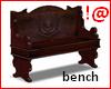 !@ Wooden bench